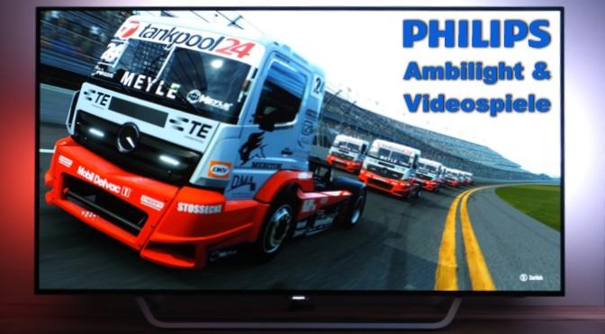 Advertorial: Philips Ambilight und Videospiele – ein perfektes Team