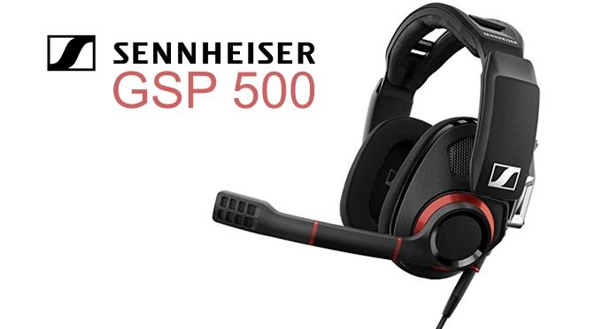 Hardwaretest: Sennheiser GSP 500 - die offene Creme de la Creme des Gaming
