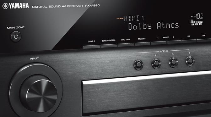 Yamaha AVENTAGE AV-Receiver RX-A680 und RX-A880 - Heimkino-Power