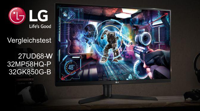 LG Gaming-Monitor Vergleichstest 2018
