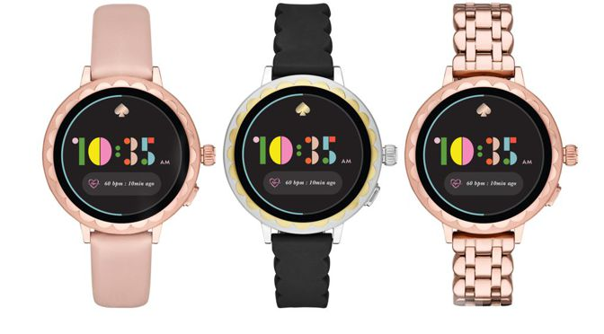 KATE SPADE LANCIERT DIE NEUE SCALLOP SMARTWATCH 2 KOLLEKTION