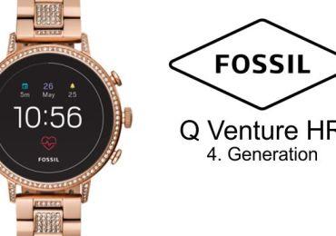 Hardwaretest: Fossil Q Venture HR der 4.Generation – mehr als nur ein Zeitmesser