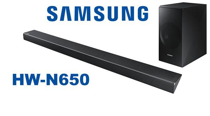 Hardwaretest: Samsung HW-N650 – zierlicher Soundbarren mit breitem Klang