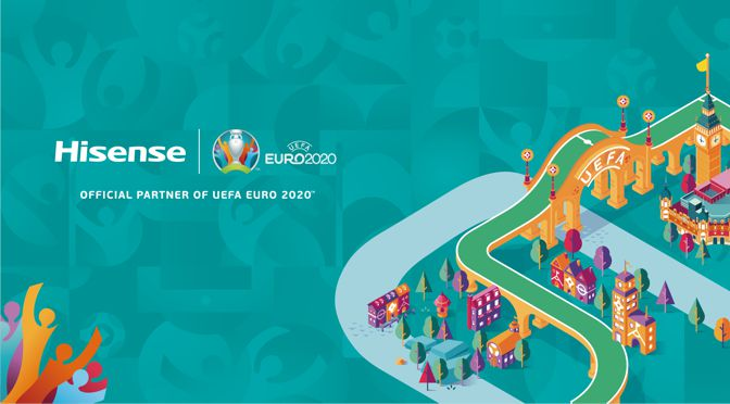 Hisense ist offizieller Sponsor der UEFA EURO 2020