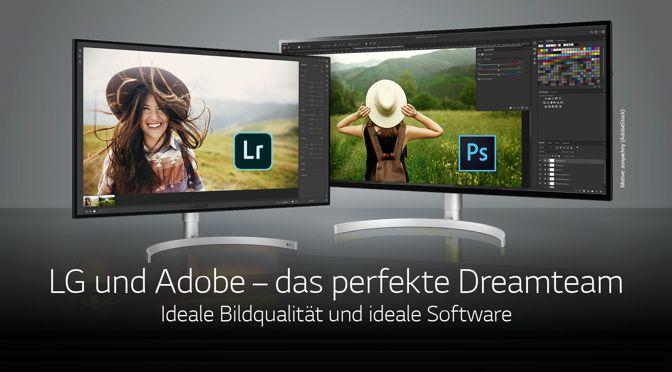 LG und Adobe: Creative Cloud Foto-Abo kostenlos