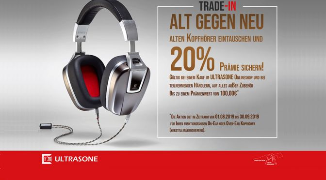 ULTRASONE startet attraktives Kopfhörer-Trade-In-Programm