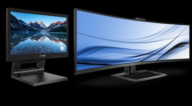 Nahezu unbegrenzte Möglichkeiten: begeisternde Philips Monitore