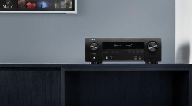 Denon erweitert seine X-Serie um den AVR-X1600H DAB