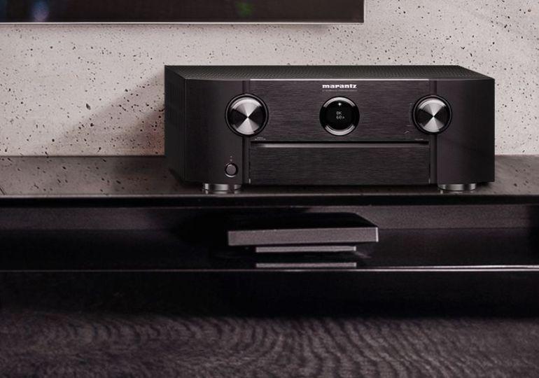neue Modelle der SR-Serie - Marantz kündigt 8K-fähige AV-Receiver und Verstärker an