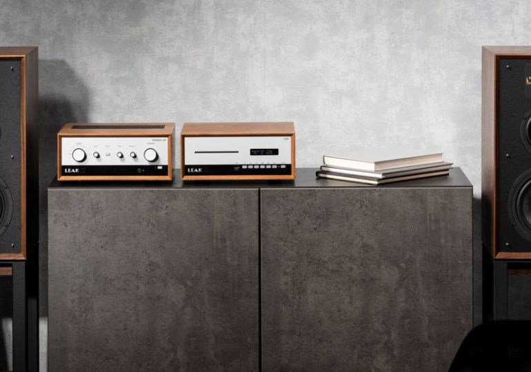 Mehr Vintage geht nicht: Leak Stereo 130 / CDT und Wharfedale Linton