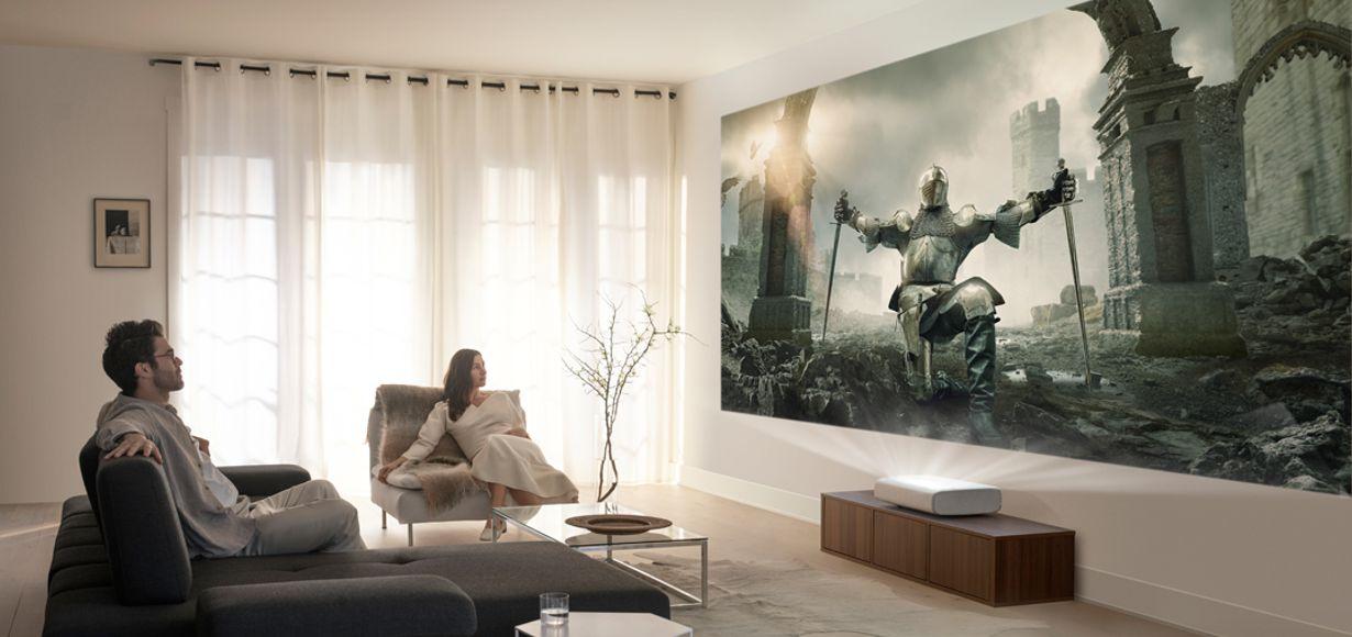 The Premiere - 4K-Ultra-Kurzdistanz-Beamer von Samsung