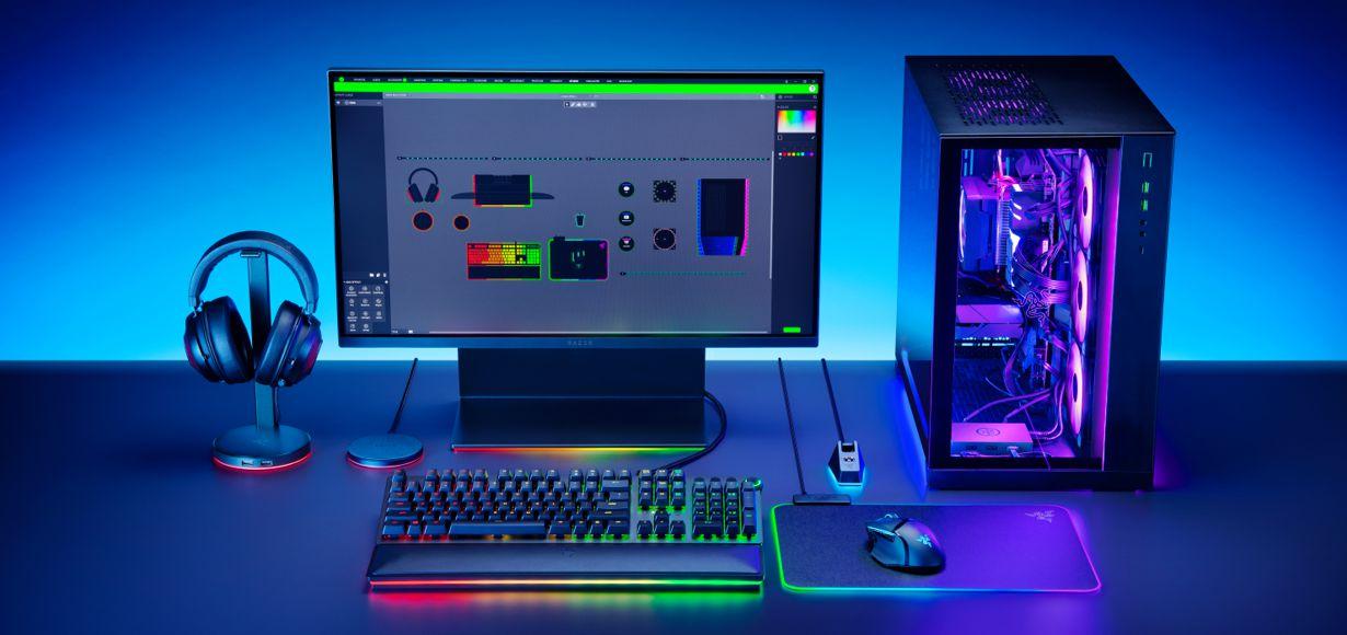 NEUES RAZER CHROMA-ZUBEHÖR BRINGT CHROMA RGB IN DEN PC