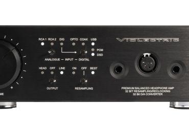 Violectric DHA V380: Hochwertiger Kopfhörer-Verstärker mit DA-Wandlung und 32-Bit-Resampling