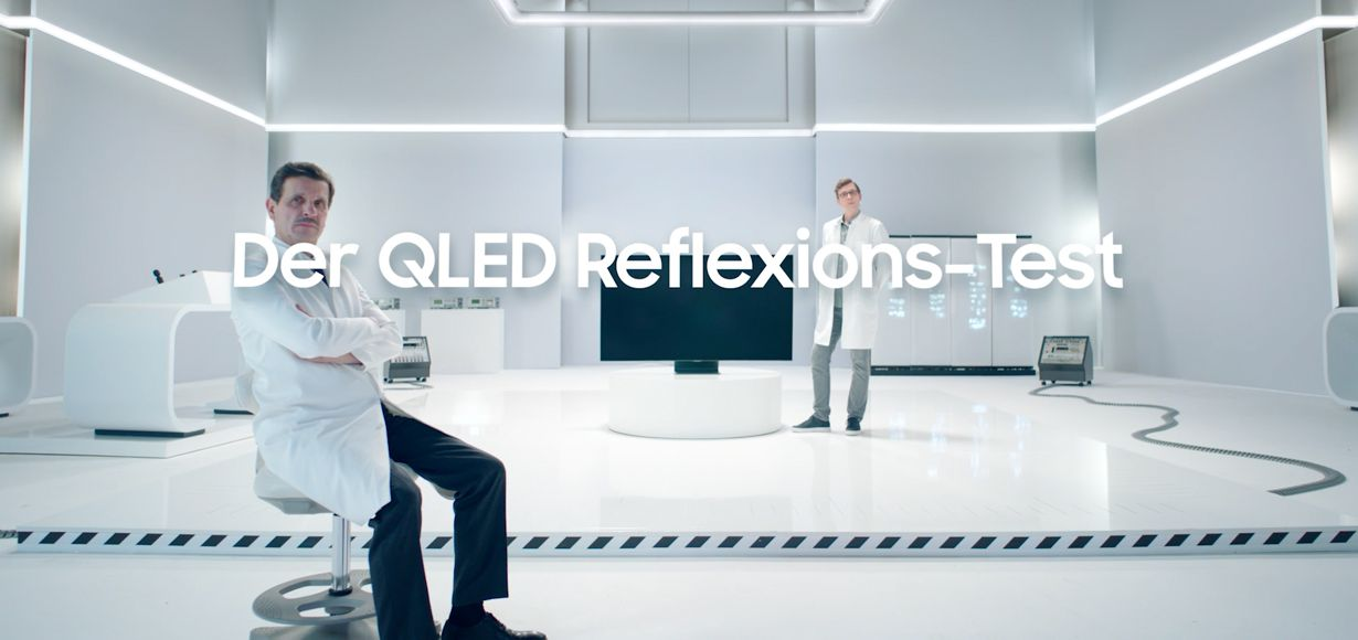 Neue QLAB-Kampagne von Samsung: QLED im ultimativen Härtetest