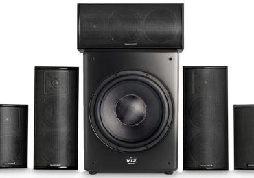 M&K Sound zum Bestpreis: klangstarkes Heimkino-System aus 750 Series und V12 Subwoofer