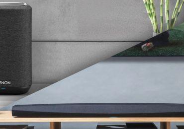 Hardwaretest: Ein Heimkino mit den Denon Home 150 und der Soundbar DHT-S716H