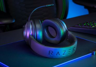 Ultraleichter Gaming-Komfort mit dem Razer Kraken V3 X