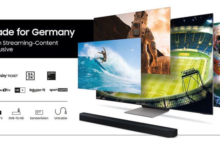 Made for Germany 2021: Top-Inhalte beim Kauf eines 2021er Samsung Aktions-TVs inklusive
