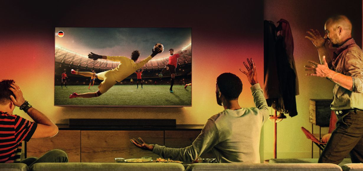 Zeige Deine Farben! - Große EM-Aktion von Philips TV & Sound