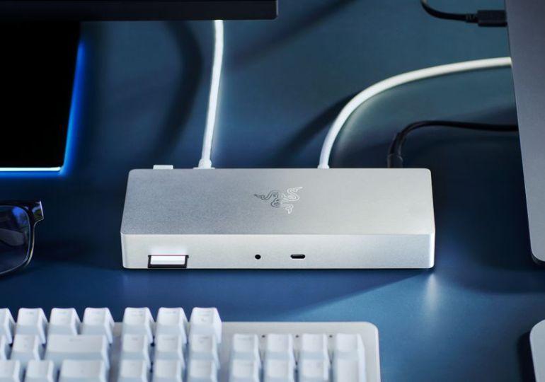 Razer Thunderbolt 4 Dock und USB-C GaN Charger designt für Mac