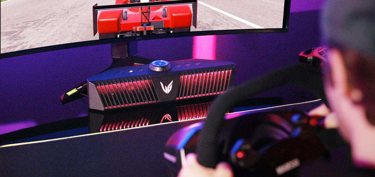 immersives Gaming mit neuem LG UltraGear Gaming Speaker