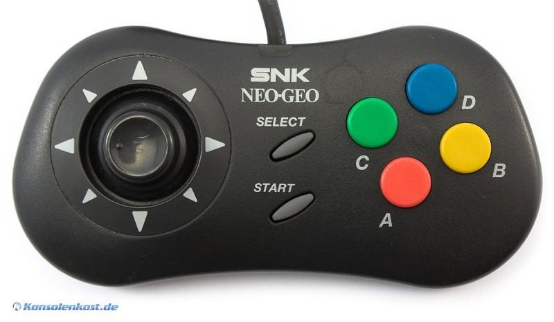 Neo Geo CD Original Controller Schwarz Konsolenkost