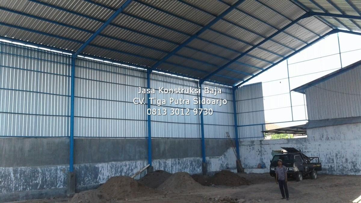 Konstruksi Baja WF, CNP, H-Beam + Panel Lantai   H. YAYAR FUAD 0813 3012 9730