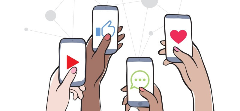 Defining target group of the social media marketing plan
