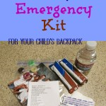 Tiny Emergency Kit for Your Child's Backpack