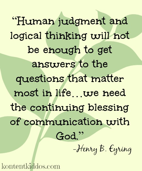 Communication with God