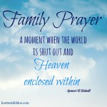 The Power of Family Prayer