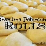 Grandma Peterson's Rolls