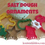 Salt Dough Ornament Craft