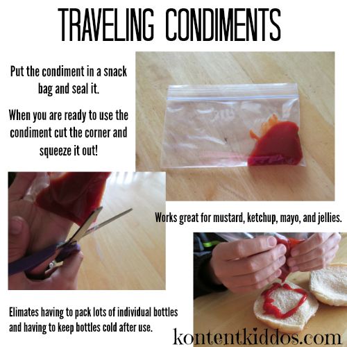 traveling condiments