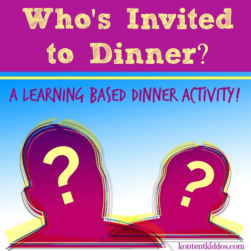learning based dinner activity