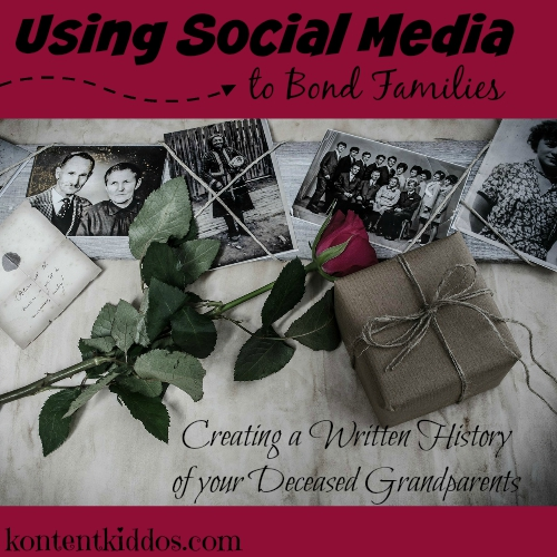 creating a written history of your grandparents