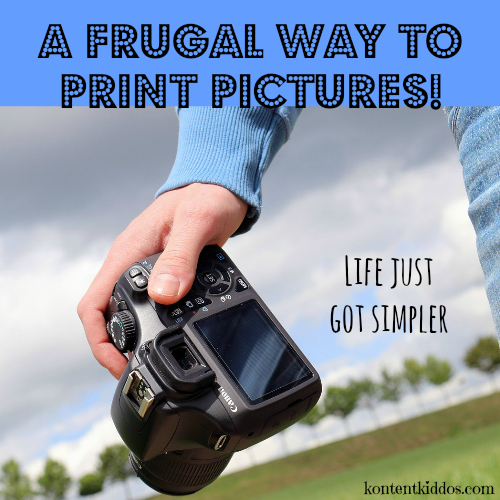 A Frugal Way to Print Pictures