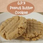 GP's Peanut Butter Cookies