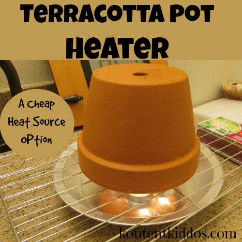 Terracotta Pot Heater