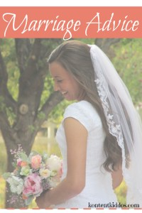 Marriage Advice–for all of us!