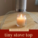 Tiny Stove Top for Emergencies