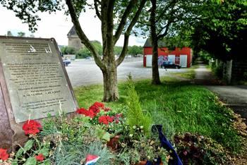 Gedenkstein für die ermordete Polizisten Michèle Kiesewetter in Heilbronn. Foto: Martin Storz