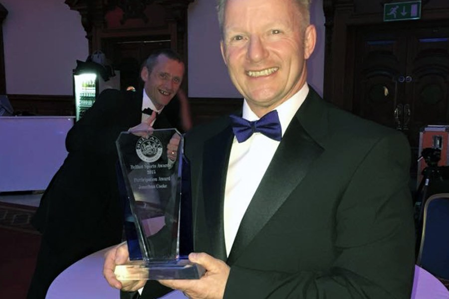 Jonathan Participation Award 2015