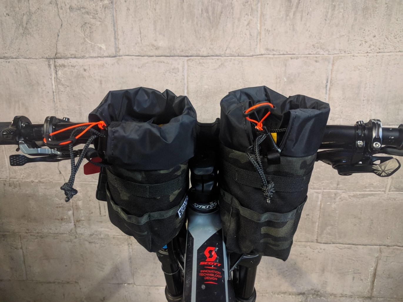 Bikepacking feedbags Wizard works