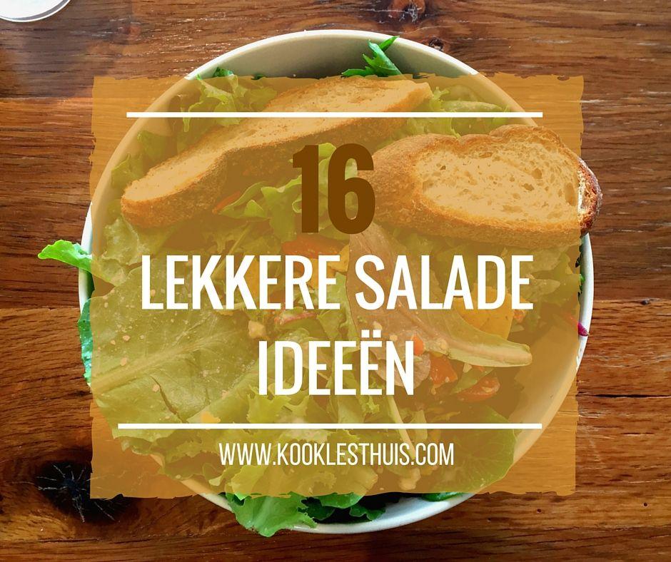lekkere salade ideeën