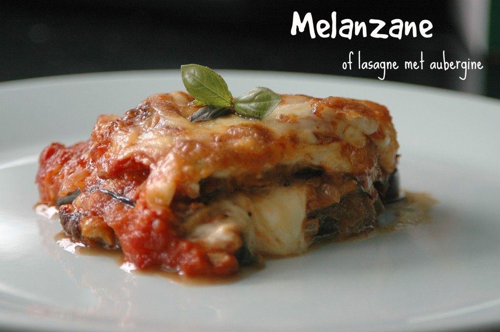 Melanzane of lasagne met aubergine