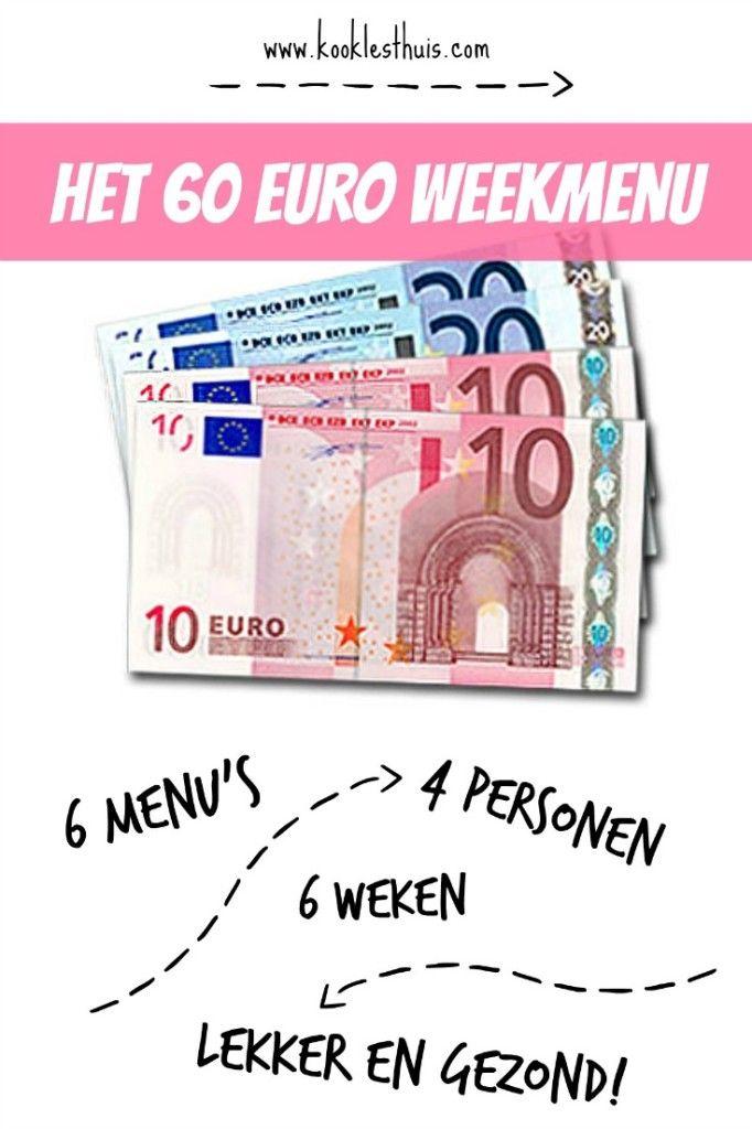 60 euro weekmenu