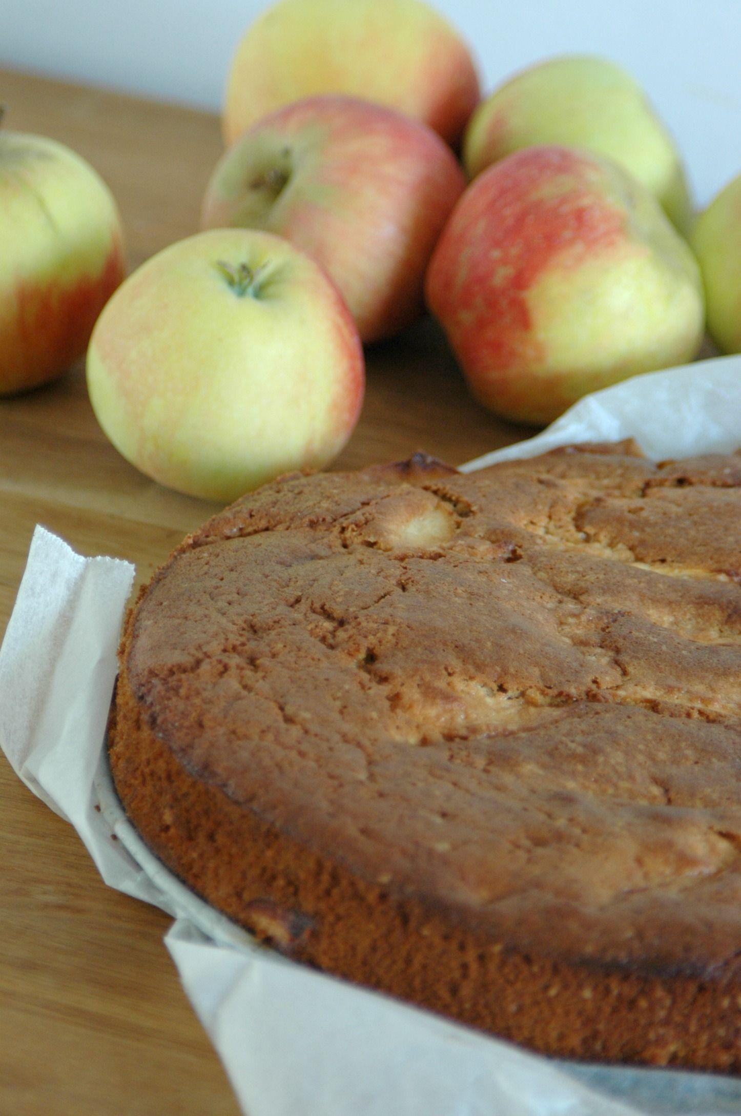 Appelcake met kaneel
