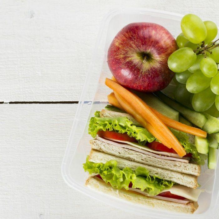 6 ideeën voor een makkelijke gezonde lunch
