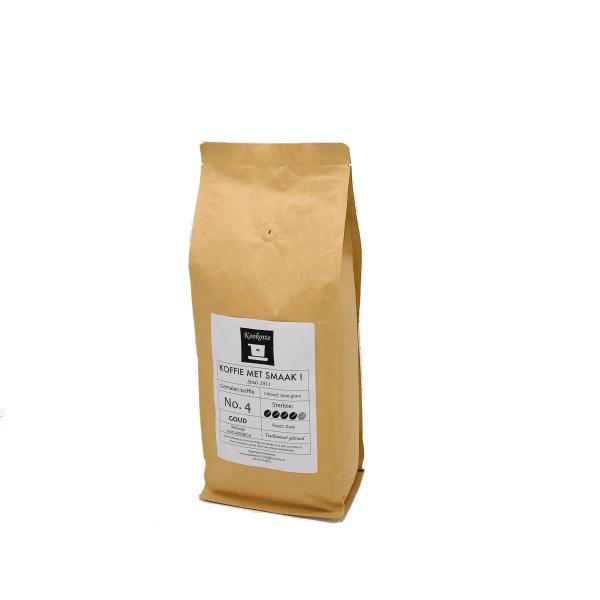 Gemalen koffie No.4